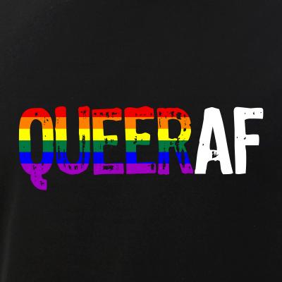 QUEER AF Queer as Fuck LGBTQ Pride