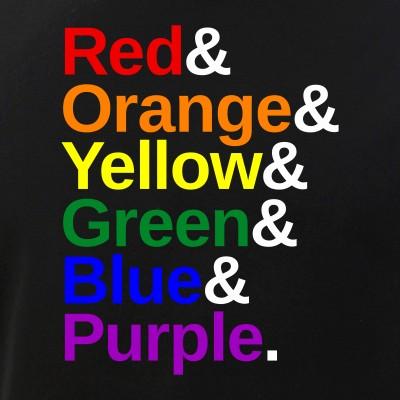 LGBTQ Pride Flag Color List