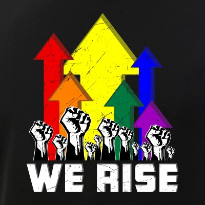 We Rise LGBT Gay Pride Protest