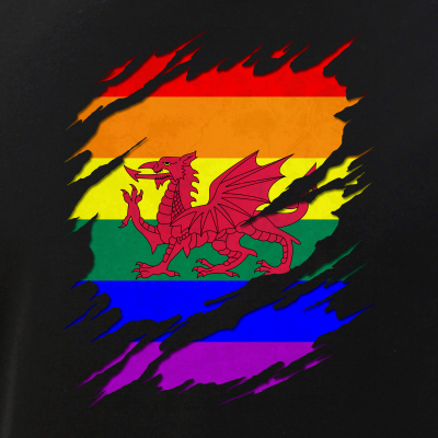 LGBT Welsh Flag Ripped Reveal