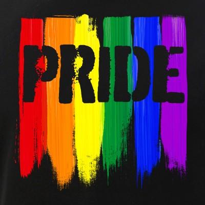 LGBTQ Pride Brush Strokes