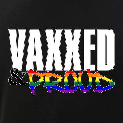 Vaxxed & Proud LGBTQ Pride Flag