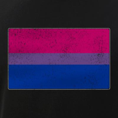 Distressed Bisexual Pride Flag