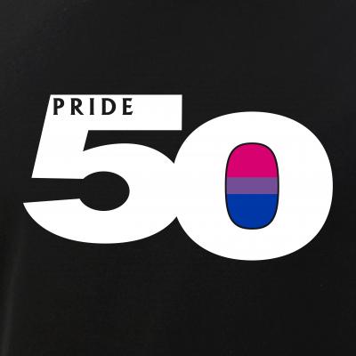 Pride 50 Bisexual Pride Flag