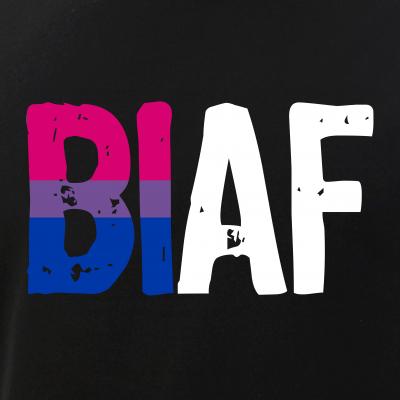 BI AF Bi as Fuck Bisexual Pride Flag