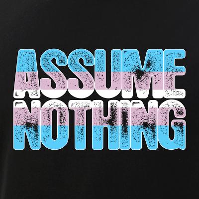 Assume Nothing Transgender Pride
