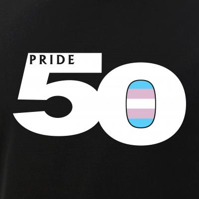 Pride 50 Transgender Pride Flag