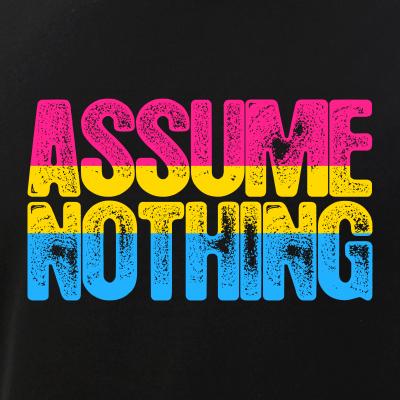 Assume Nothing Pansexual Pride