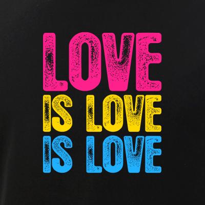Love is Love is Love Pansexual Pride