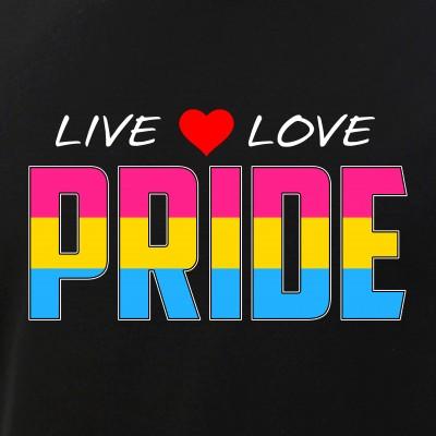 Live Love Pride - Pansexual Pride Flag