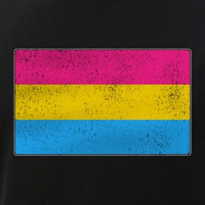 Distressed Pansexual Pride Flag