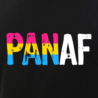 PAN AF Pan as Fuck Pansexual Pride Flag