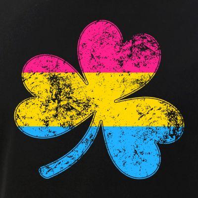 Pansexual Shamrock Pride Flag