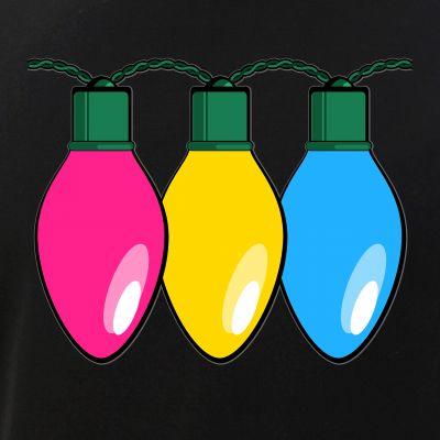 Pansexual Pride Flag Christmas Lights