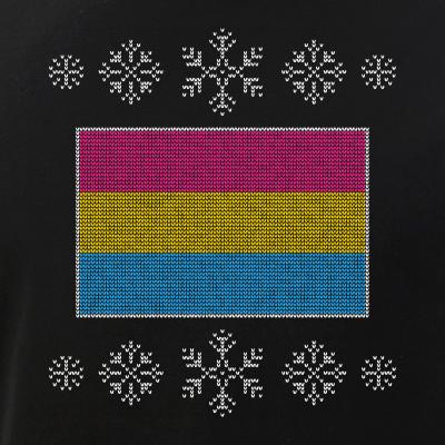 Ugly Christmas Pansexual Pride Flag Design