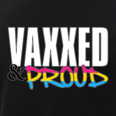 Vaxxed & Proud Pansexual Pride Flag