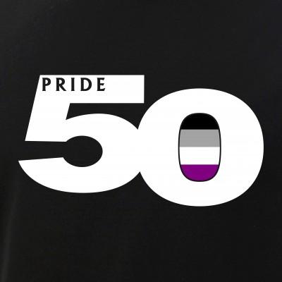Pride 50 Asexual Pride Flag