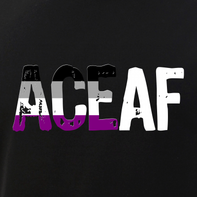 ACE AF Ace as Fuck Asexual Pride Flag