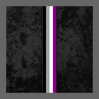 Asexual Pride Flag Stripe