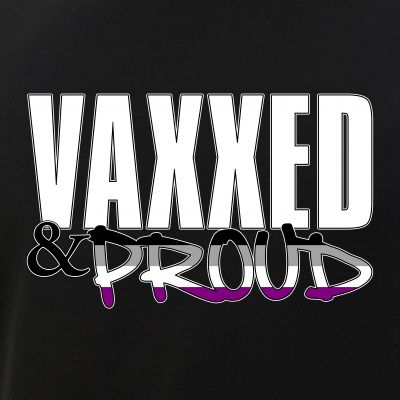 Vaxxed & Proud Asexual Pride Flag