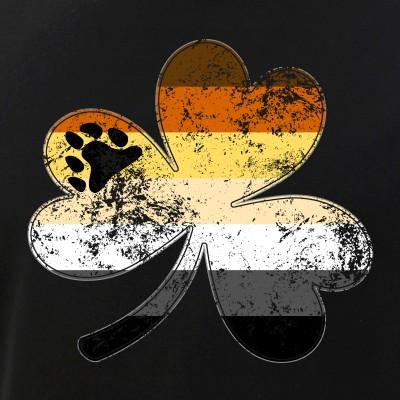 Gay Bear Shamrock Pride Flag