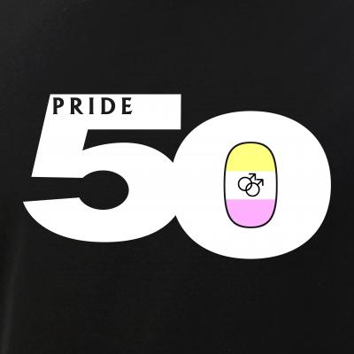 Pride 50 Gay Twink Pride Flag