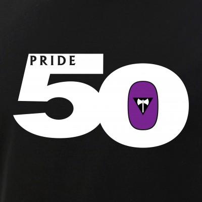 Pride 50 Lesbian Labrys Pride Flag