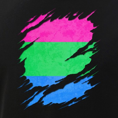 Polysexual Pride Ripped Reveal