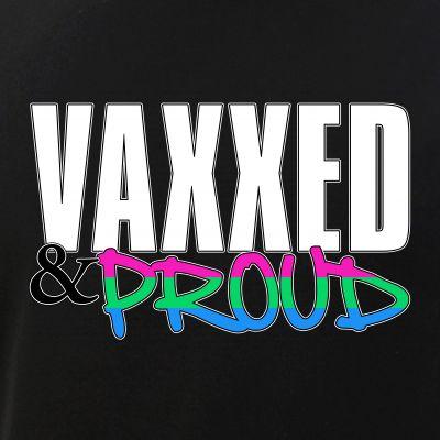 Vaxxed & Proud Polysexual Pride Flag