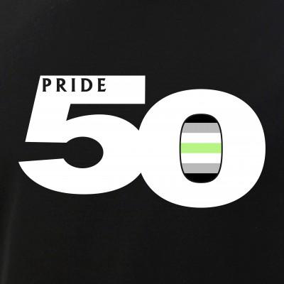 Pride 50 Agender Pride Flag