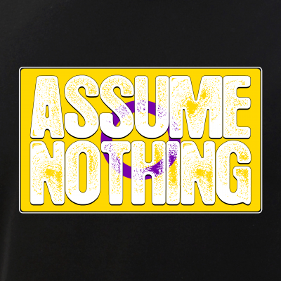 Assume Nothing Intersex Pride Flag