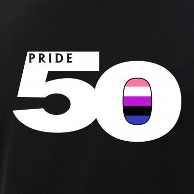 Pride 50 Genderfluid Pride Flag