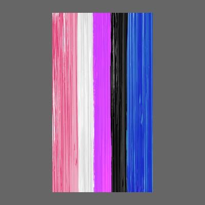 Genderfluid Pride Flag Paint Strokes