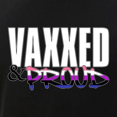 Vaxxed & Proud Genderfluid Pride Flag