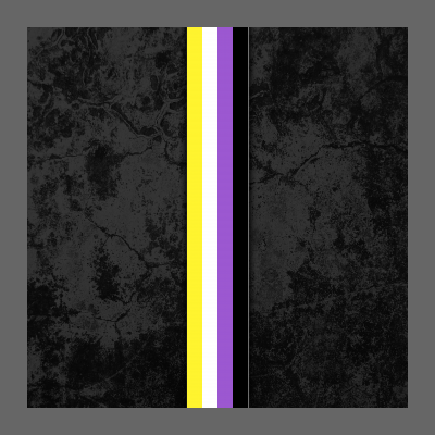 Nonbinary Pride Flag Stripe