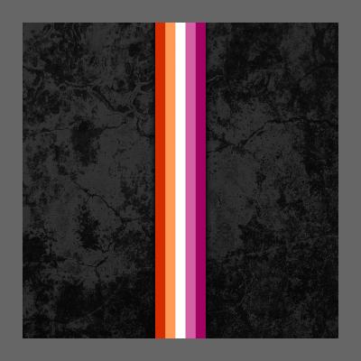 Lesbian Pride Flag Stripe