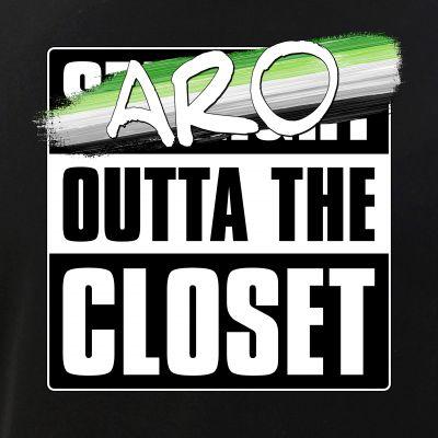 Aro Outta the Closet  - Aromantic Pride