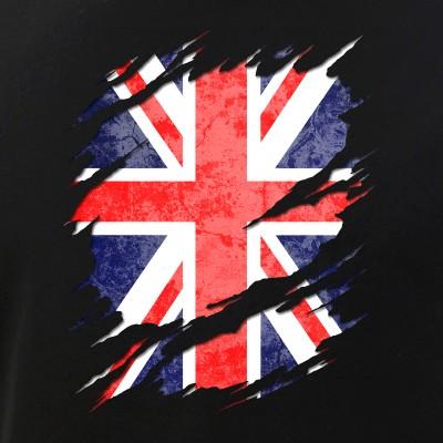UK Union Jack Flag Ripped Reveal