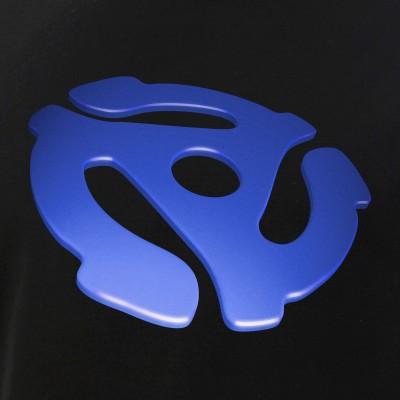 Blue 3D 45 RPM Adapter