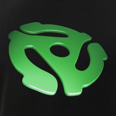 Green 3D 45 RPM Adapter
