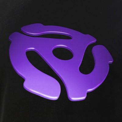 Purple 3D 45 RPM Adapter
