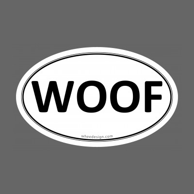 WOOF Euro Oval