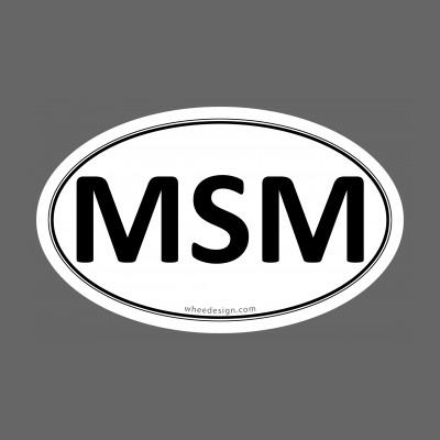 MSM Euro Oval