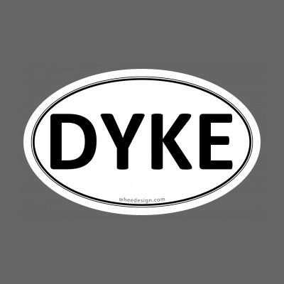 DYKE Euro Oval