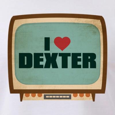 Retro I Heart Dexter