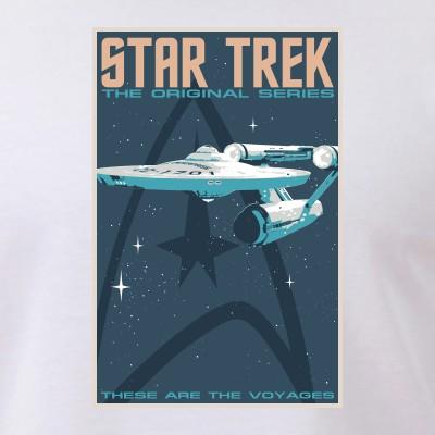 Retro Star Trek: TOS Poster