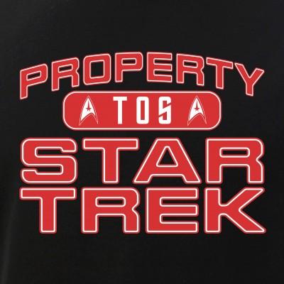 Red Property Star Trek - TOS
