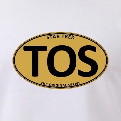 Star Trek: TOS Gold Oval