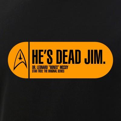 He's Dead Jim - Star Trek Quote
