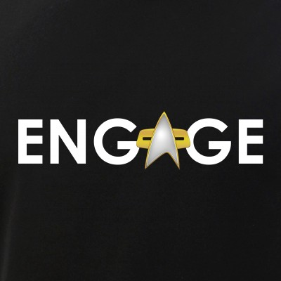 Engage Star Trek Emblem